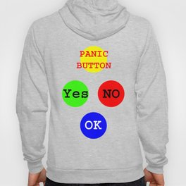 Yes No Buttons jGibney The MUSEUM Society Gifts Hoody