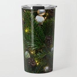 Festive Christmas Tree Travel Mug