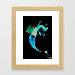 First launch Framed Art Print
