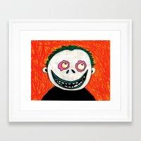 nightmare before christmas Framed Art Prints featuring Barrel - Nightmare Before Christmas by Chessirose