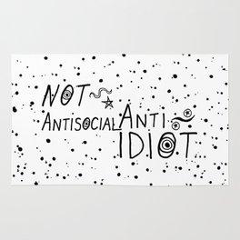 NOT Anti-Social Anti-Idiot Rug