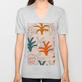 Palm grove Unisex V-Neck