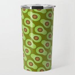 Spot-o-Cado - avocado green Travel Mug