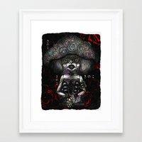 mushroom Framed Art Prints featuring Mushroom by AKIKO