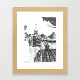Bon Voyage! Framed Art Print