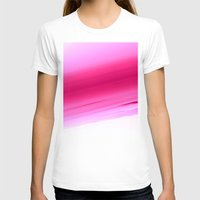 ombre T-shirts featuring Pink Ombre by SimplyChic