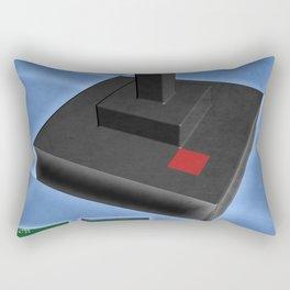 Atari game joystick nostalgia Rectangular Pillow