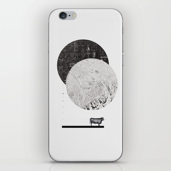 Calculating a Jump over the Moon iPhone & iPod Skin