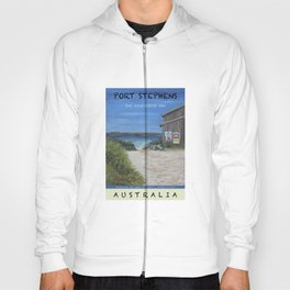 Travel Poster One Mile, NSW Hoody