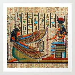 Egyptian - Isis Art Print