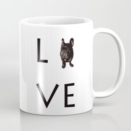 French Bulldog Love Art Print Coffee Mug