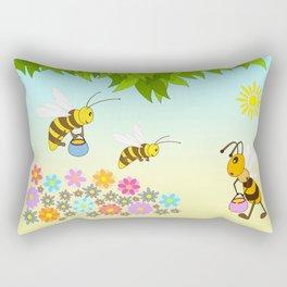 Add oil Rectangular Pillow