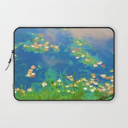 Autumn leaves on water 1 Laptop Sleeve