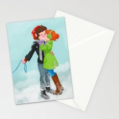 Winter Kiss Stationery Cards