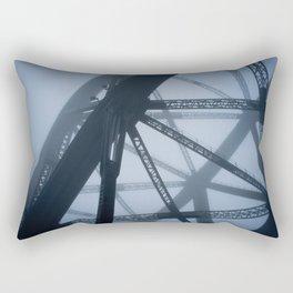 Morning fog Rectangular Pillow