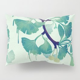 O Ginkgo (in Green) Pillow Sham