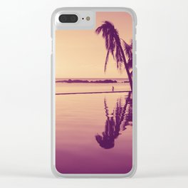 Paradise sunset Thailand Clear iPhone Case