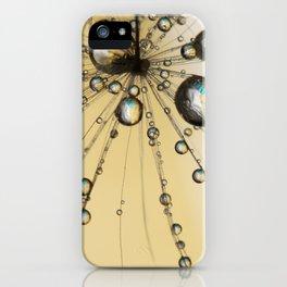 Single Dandy Seed Web Drops iPhone Case