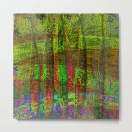 Luminous Landscape Abstract Metal Print