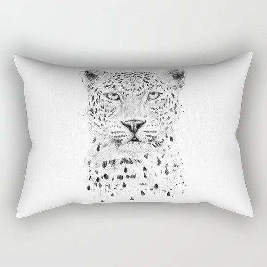 Raining again Rectangular Pillow
