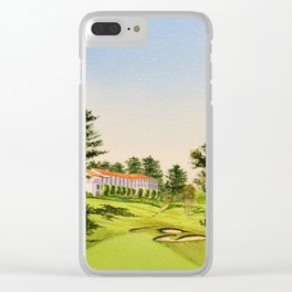 The Olympic Golf Course 18th Hole Clear iPhone Case