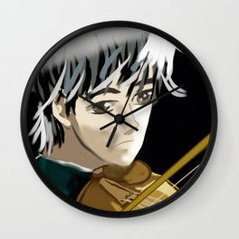 My son in Anime Wall Clock
