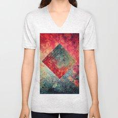 Random Square Unisex V-Neck