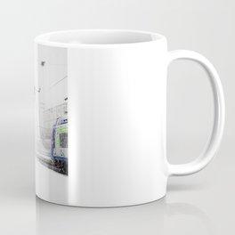 blizzard in Paris Coffee Mug