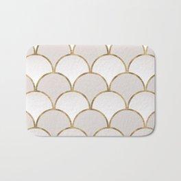 Golden Chinese Pattern Bath Mat
