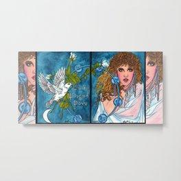 White Winged Dove Metal Print