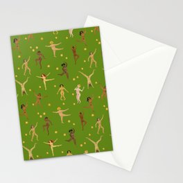 Dancing Nudes Stationery Cards