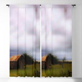 Behind The Barn Blackout Curtain