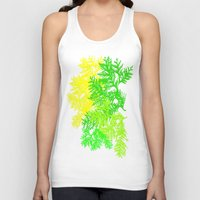 fern Tank Tops featuring Fern by Sreetama Ray