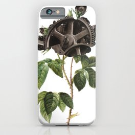 Mechanical Botanical iPhone Case
