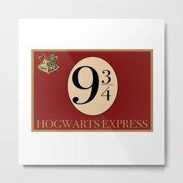Hogwarts Express Metal Print