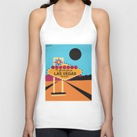 lv Tank Tops featuring Welcome to Las Vegas by Geryes