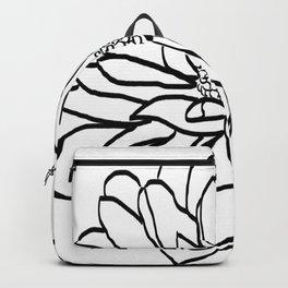 Flower (white) Backpack