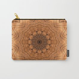 Wood Kaleidoscope b Carry-All Pouch