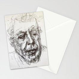 Anthony bourdain sketch Stationery Cards