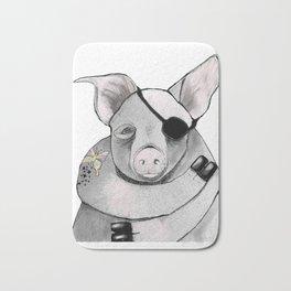 Living Pig Bath Mat