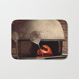 on fire Bath Mat