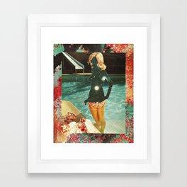 Cosmic Dip Framed Art Print