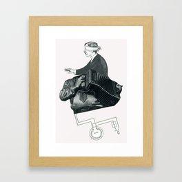 The One They Call Mushroom  Framed Art Print