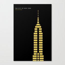 New York Skyline: Empire State Building Canvas Print