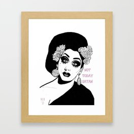 Bianca Del Rio - Not Today Satan *Special Edition* Framed Art Print