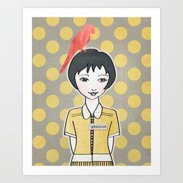 Ya Yeah | Genuine Art Print