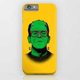 Lichtenstein's Monster iPhone Case