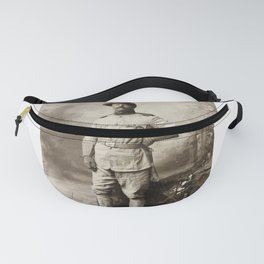 Col. Theodore Roosevelt, in Rough Rider Uniform Fanny Pack