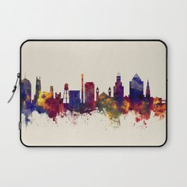 Durham North Carolina Skyline Laptop Sleeve