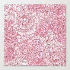 Pink Blossom Canvas Print
